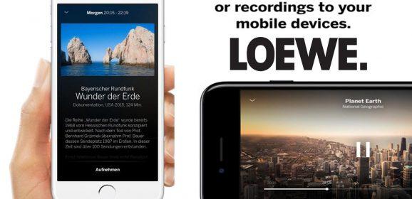 Noua aplicatie mobila pentru Smart TV Loewe App
