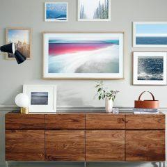 "Samsung lanseaza televizorul cu rama tablou ""Samsung Frame TV"""
