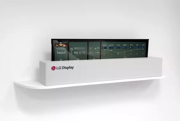 LG OLED Rollable Display Smart TV