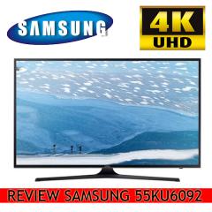 Cel mai vandut Televizor Samsung de diagonala mare 55KU6092, 4K Ultra HD