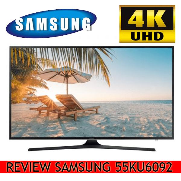 Review Televizor LED Smart Samsung, 138 cm, 55KU6092, 4K Ultra HD