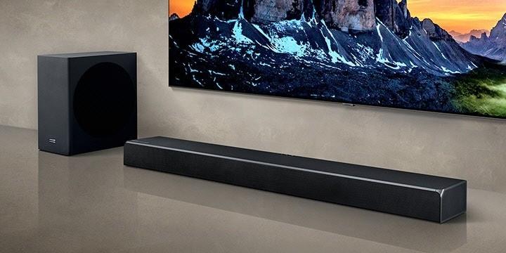Cel mai bun Soundbar de la Samsung HW-Q80R Harman Kardon