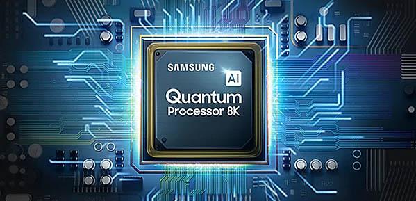 Procesor Samsung AI Quantum pentru televizoarele 8K
