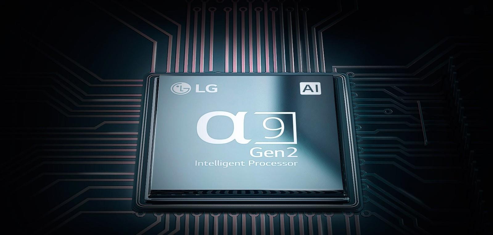 Procesorul televizoarelor LG Alpha9 Gen2