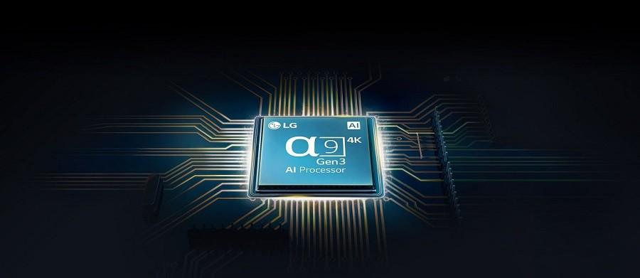 Procesorul televizoarelor LG Alpha9 Gen3