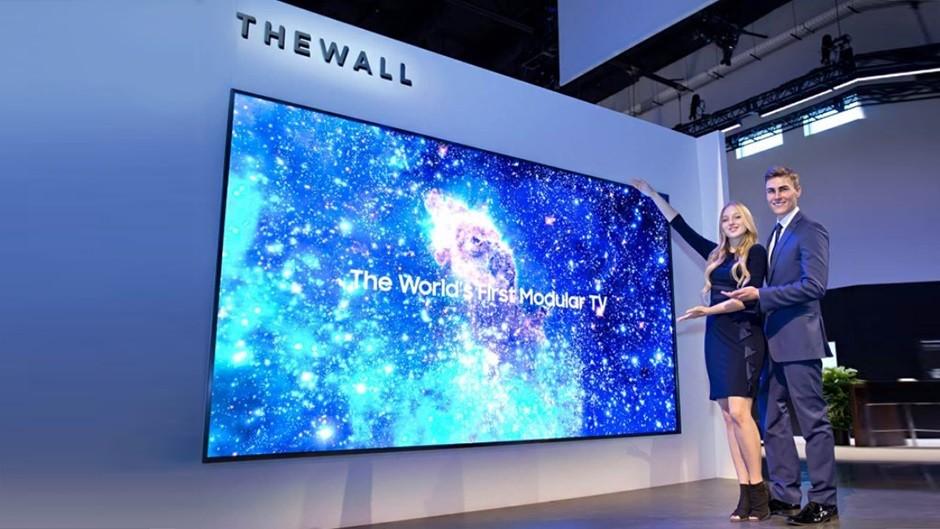 Samsung The Wall Micro LED 2020 Modular TV