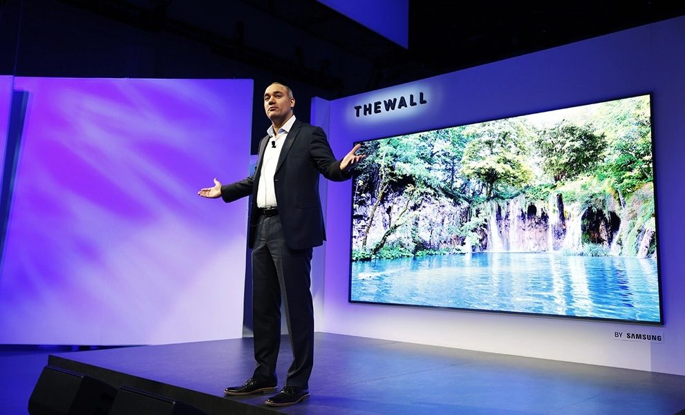 Televizorul MicroLED Samsunt The Wall 2020
