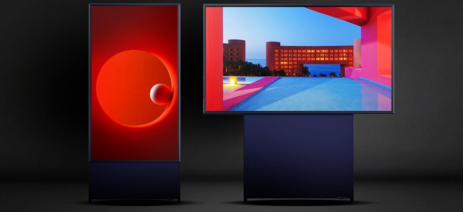 Televizorul vertical Samsung Sero 2020