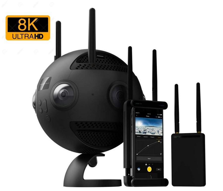 Camera video 8K Insta360 Pro 2 8K 3D camera 360 grade