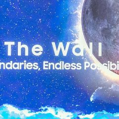 Cel mai mare televizor, Samsung  The Wall 8K MicroLED de 583 inch (15 metri)