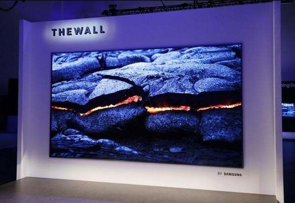Samsung The Wall cele mai mari televizoare din lume