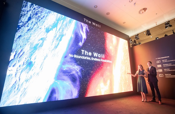 Samsung The Wall, cea mai mare diagonala din lume