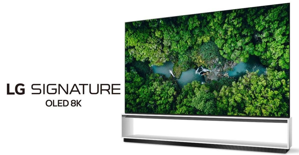 Televizor OLED 8K LG Signature