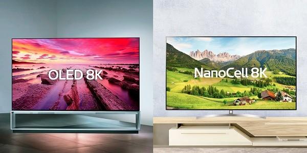 Televizorele OLED si NanoCell 8K LG